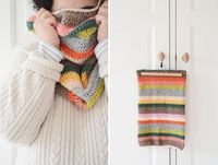 The Stripy Cowl pattern by Yvestown