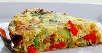 Our delicious vegetable quiche is packed with vitamins, nutrients, and flavor. In addition to being tasty and nutritious, our crustless vegetable quiche is easy