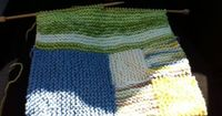 KnitFit: Dishcloth knitting