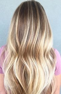 Honey blonde and buttery babylights. Soooo good. Color by Ashleigh Nichols. Filed under: Hair Color, Hair Styles, Hair Stylists Tagged: balayage, beauty, blonde