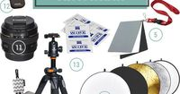 12 Must Have Photography Tools and Supplies - This is a comprehensive guide to essential photography gear for all skill levels, including beginners, bloggers, and more, to give you an idea of what to pack in your camera bag! Also includes lots of tips, tr...