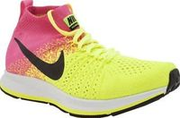 Nike Yellow Zoom Pegasus Flyknit Girls Youth Your little one will be zooming past in a blur of neon yellow and pink, with the Nike Zoom Pegasus Flyknit on their feet. The revolutionary knitted fabric forms a sock-like fit, sitting on a Nike Zoom http://ww...