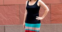 Learn How to Make a Maxi Skirt by creating your own pattern. This easy to follow tutorial will have you finished in no time!