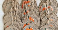 Trick Or Treat Tags by Heather Nichols for Papertrey Ink (October 2016)