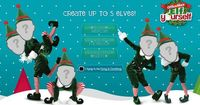 Create up to 5 elves for an on-line video! So cute!!