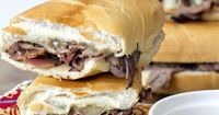 Easy French Dip Sandwiches -
