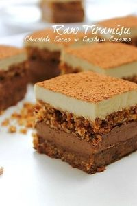 Tiramisu: creamy and crumbly in all the right places! (gf, vegan, no bake) **NOT raw**