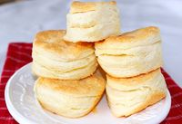 High-Rise Buttermilk Butter Biscuits