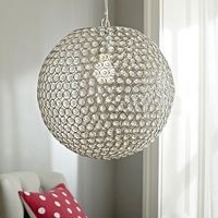 Yeah...gonna need this shimmer pendant from pb teen for my kitchen bar area! 3x please! :D
