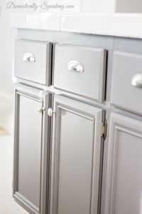Easiest Kitchen update... add new hardware! Adding knobs, pulls gives a custom look.