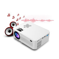 JVP600 LCD Projector 2300 Lumens Full HD1080P LED Projector Home Theater Portable Video Projector