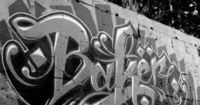 Calligraffiti - gorgeous street art calligraphy