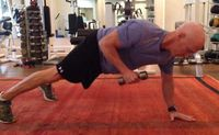 If you think standard planks are hard, just wait until you try celebrity trainer David Kirsch's circuit!