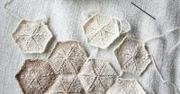 Hexafranken pillow, I really like the idea but I'm not a fan of the natural wool. Or at least think they should have a bigger contrast.