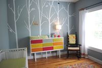nature inspired nursery | ... Nature-Themed Nursery For a Baby Girl | Chic & Cheap Nursery