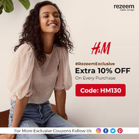 H&M, a popular fashion store that has got the best range of fashion for the online shoppers to choose and buy at most reasonable prices with extra discounts.