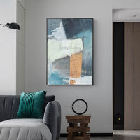 Modern Abstract acrylic painting on canvas original textured painting extra Large Wall Pictures Home decor hand painted cuadros abstractos $89.00