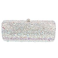 Women Full Crystal Evening Bag