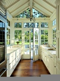 THIS is the extension to my kitchen I've been thinking of David!