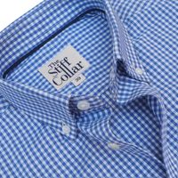 Vichy Blue Gingham Button Down Shirt �'�1699.00