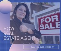 How Real Estate Agent Cope Up With COVID 19