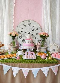 This precious ALICE IN WONDERLAND THEMED BIRTHDAY PARTY was submitted by Chanel Atterbury of Bernelo.