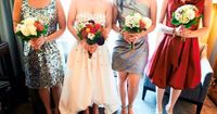 Beautiful + eclectic mix of dresses.