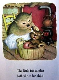 from The Little Fur Family by Margaret Wise Brown