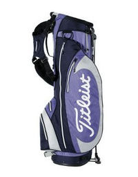 Titleist Golf X86 Stand Bag Purple/Navy/Silver Newly designed top-cuff with integrated stand mechanism and handle, elevate this popular stand bag to a new level of lightweight, fully-featured performance. Weighing only 4.2 pounds, this successful http://w...