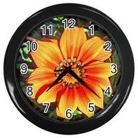 """Great wall accessory, perfect for use at home or office, this 10"""" (diameter) clock comes with a plastic front cover is a favorite of ours. The simple design, along with its practicality makes this a popular house warming gift. Requires one AA..."""