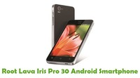 Here you can root your Lava iris pro 30 Smartphone without PC. Then find out the tutorial step by step instruction to root your Smartphone and link has given below for your reference. https://freeandroidroot.com/root-lava-iris-pro-30/