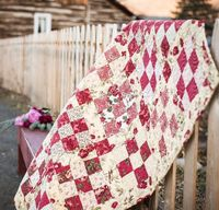 Get inspired by this collection of gorgeous rose quilt designs. Included: a FREE rose quilt pattern, a rose quilt kit and more!