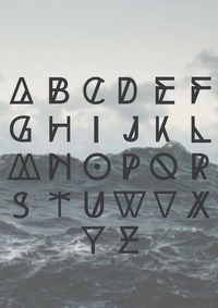 HIGH TIDE free typeface by Filipe Rolim, via Behance