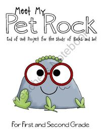 Rock and Soil Day - Meet My Pet Rock from Elementary Nerd on TeachersNotebook.com (10 pages) - End of unit project for rocks and soil! 1st and 2nd grade pet rock project!