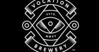 Logo and illustrated package design with emboss detail by UK studio Robot Food for British craft beer microbrewery Vocation. Opinion by Richard Baird