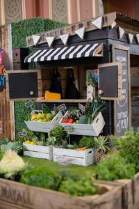 Our new Farmers Market style Cubby House. Rustic, Recycled, Apple Crate Cubby�€�
