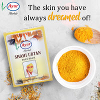 Buy online the best face care products from Ayur Herbals. This Shahi Ubtan Face Pack is a herbal anti-dryness face pack which hydrates and nourishes dry skin. This fights with acne-causing bacteria and works as an antiseptic amongst other skin infections....