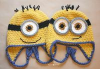 Repeat Crafter Me: Crochet Minion Hat Pattern