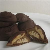 Chocolate Turtles http://allrecipes.com/Recipe/Chocolate-Turtles-The-Candy/Detail.aspx