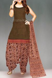 online shopping for chettnadu handloom cotton salwar kameez are available at www.unnatisilks.com