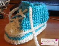 Crochet Converse/High Tops (6-12 months)