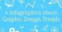 On the Creative Market Blog - 4 Infographics about Graphic Design Trends