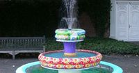 You can make fully operational fountain props for a stage production using baby pools. Baby pools are the vinyl inflatable or hard plastic mini above-ground poo
