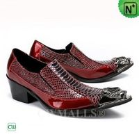 Men Leather Shoes | CWMALLS® Bern Patented Leather Dress Shoes CW708000 [Global Free Shipping]