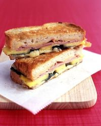 pineapple grilled ham & cheese sandwich