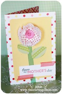 1. Silhouette Tutorial & Silhouette Wall Hanging 2. Mother's day Questionnaire for Mom & Grandma 3. Colorful Photo Display 4. Kids Craft-Handmade Card 5. Father