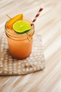 Margaritas are always a hit at summertime parties! I love this fresh peach version because it's light and...