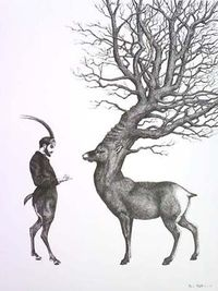 At The End Of The Woods by Dan Hillier, (Cabinet of Curiosities). http://www.danhillier.com/