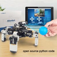 LOBOT Alienbot Raspberry Micro:bit Programmable PC/Stick Control Face Recognition Smart RC Robot With Camera