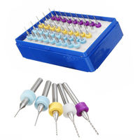 50pcs Micro Drill Bit Set Carbide Jewelry Rotary Tool Circuit Board DIY Projects $35.80
